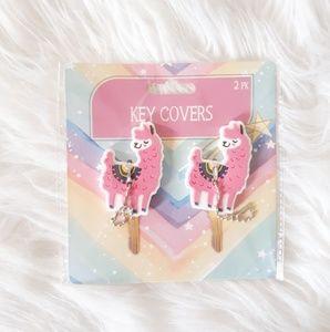 New! Llama Key Covers